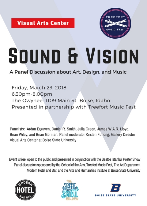 postcard for sound and vision panel discussion