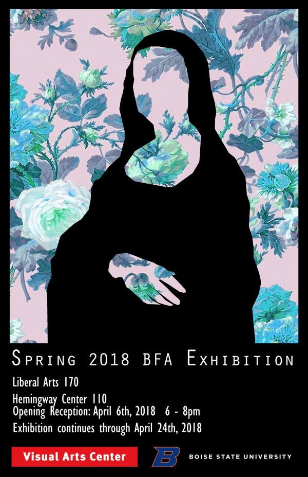 poster for 2018 BFA exhibition