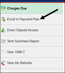 Enroll in Payment Plan options