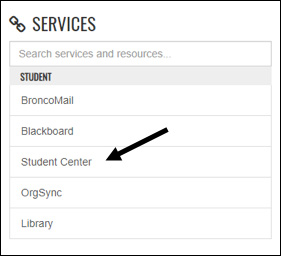 Services Dropdown