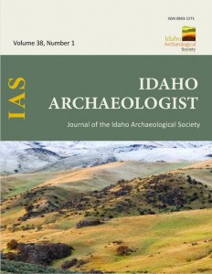 Idaho Archaeologist cover