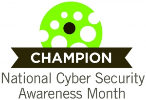 National Cybersecurity Awareness Month Logo