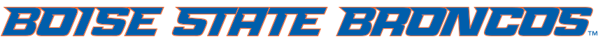 Boise State Bronco Wordmarks