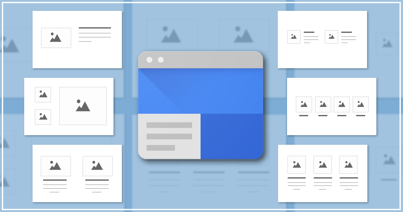 New layouts for Google Sites