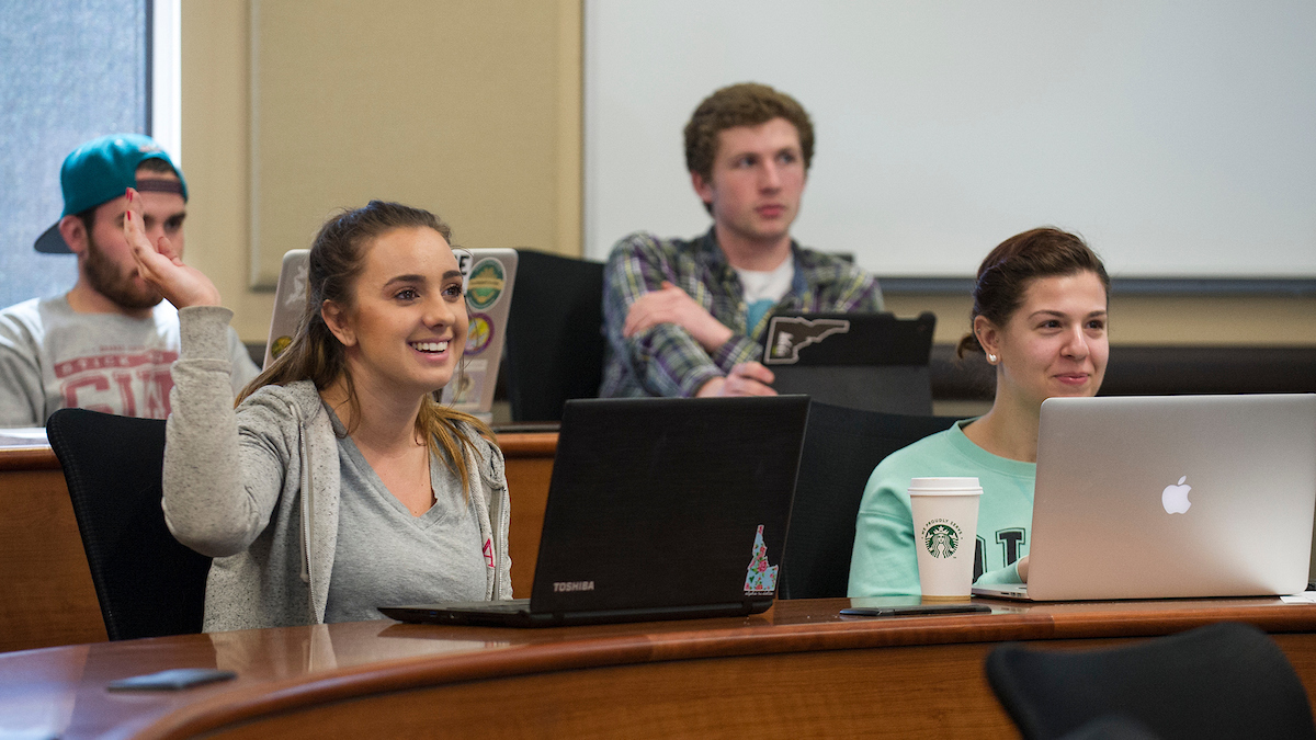 Concurrent Enrollment students in class at Boise State
