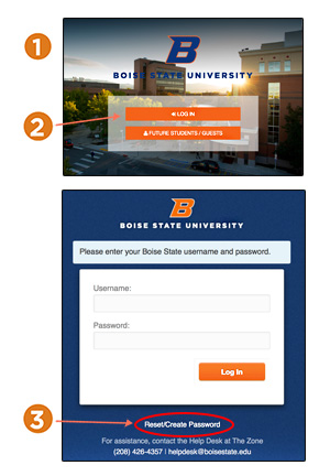 Steps for accessing my.BoiseState
