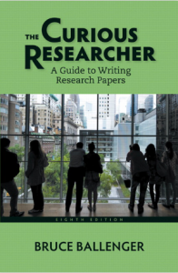 The Curious Researcher book cover.