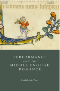 Performance and the Middle English Romance book cover.