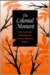 The Colonial Moment book cover.