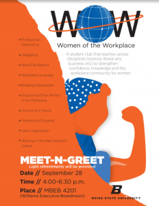 a poster for women of the workplace