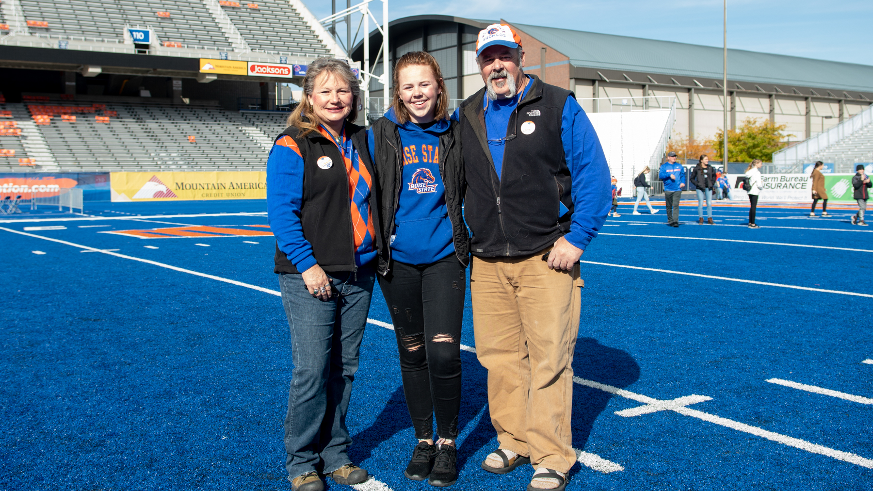 Homecoming, Parent and Family Weekend, Touch the Turf, Photo by Madison Park