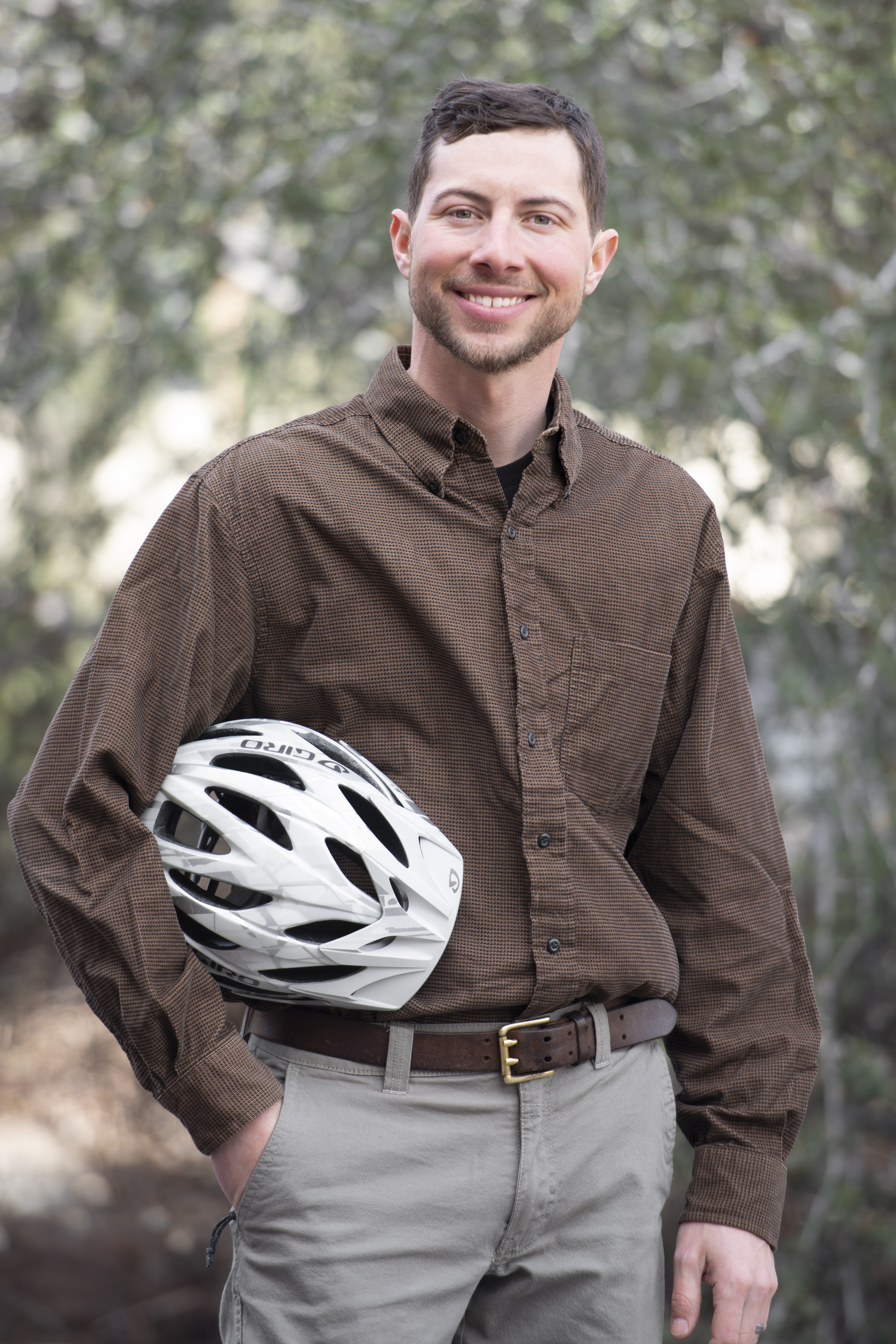 Gabe Finkelstein, Public Safety, Bike Shop, portrait, Allison Corona photo