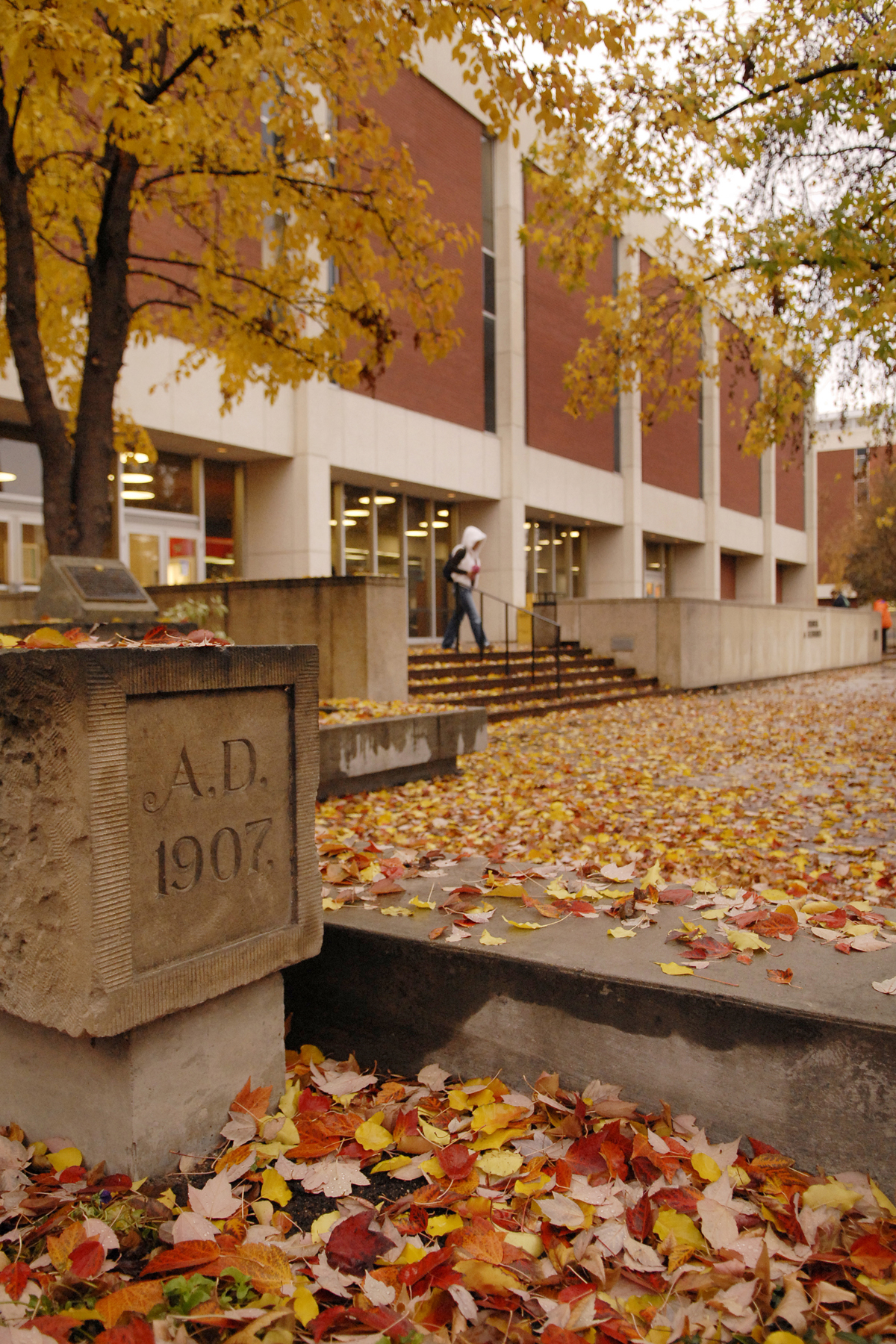 Riverfront Hall in the Fall