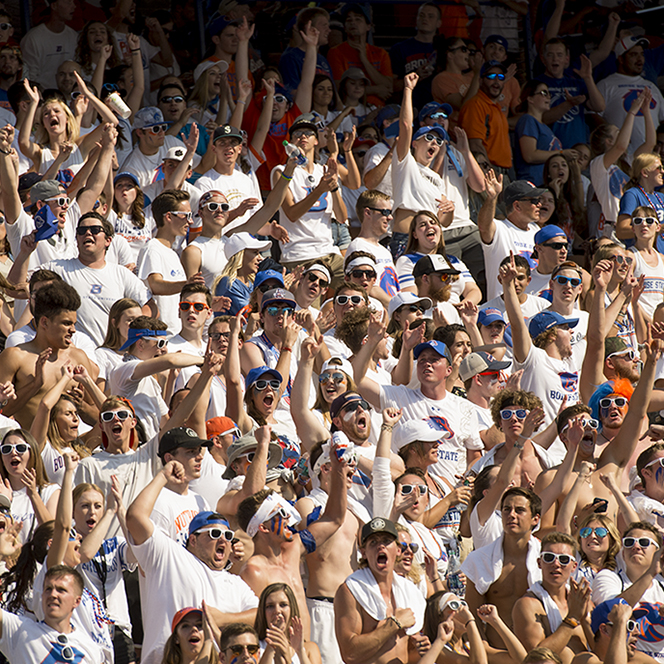 Boise State Football vs. Troy. John Kelly photo
