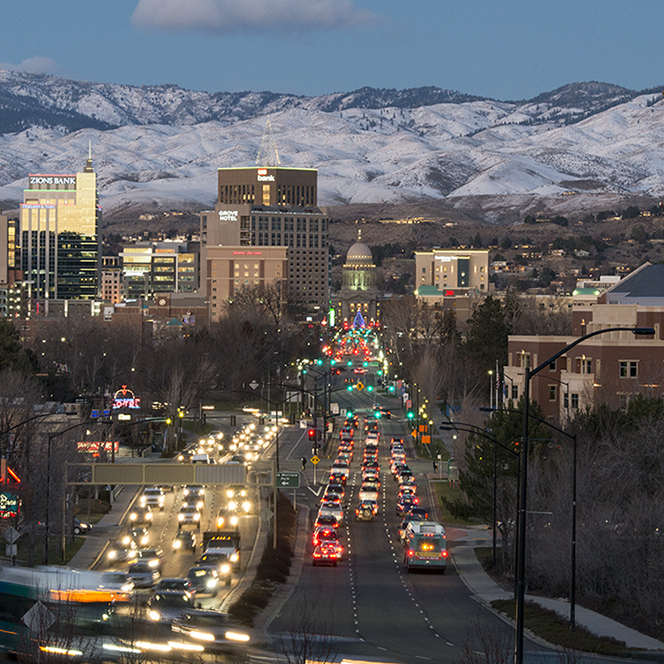 Photo of downtown Boise