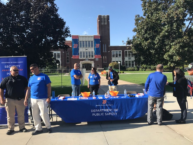 Public Safety at Bronco Giving Day 2018