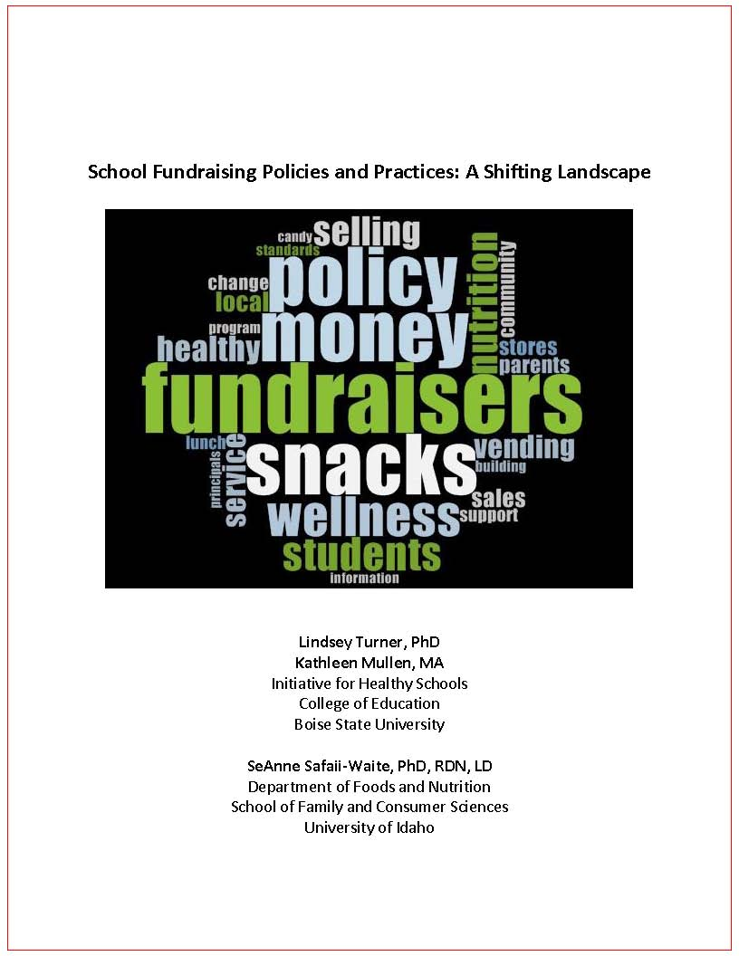 School Fundraising Policies and Practices: A Shifting Landscape PDF