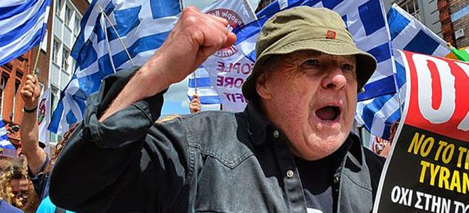 Greece Rally Against Troika