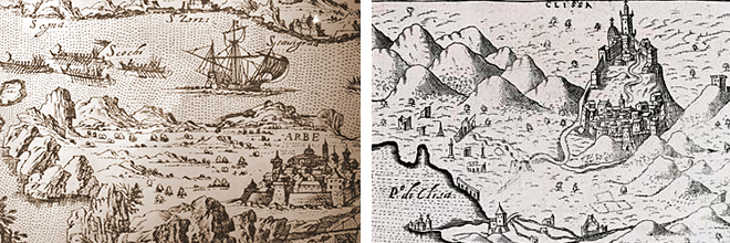 Image of ancient maps