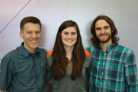 Paul Davis, Olivia Maryon, and Jesse Schimpf.