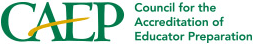 CAEP council for the accreditation of educator preparation logo