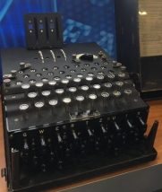 An enigma machine