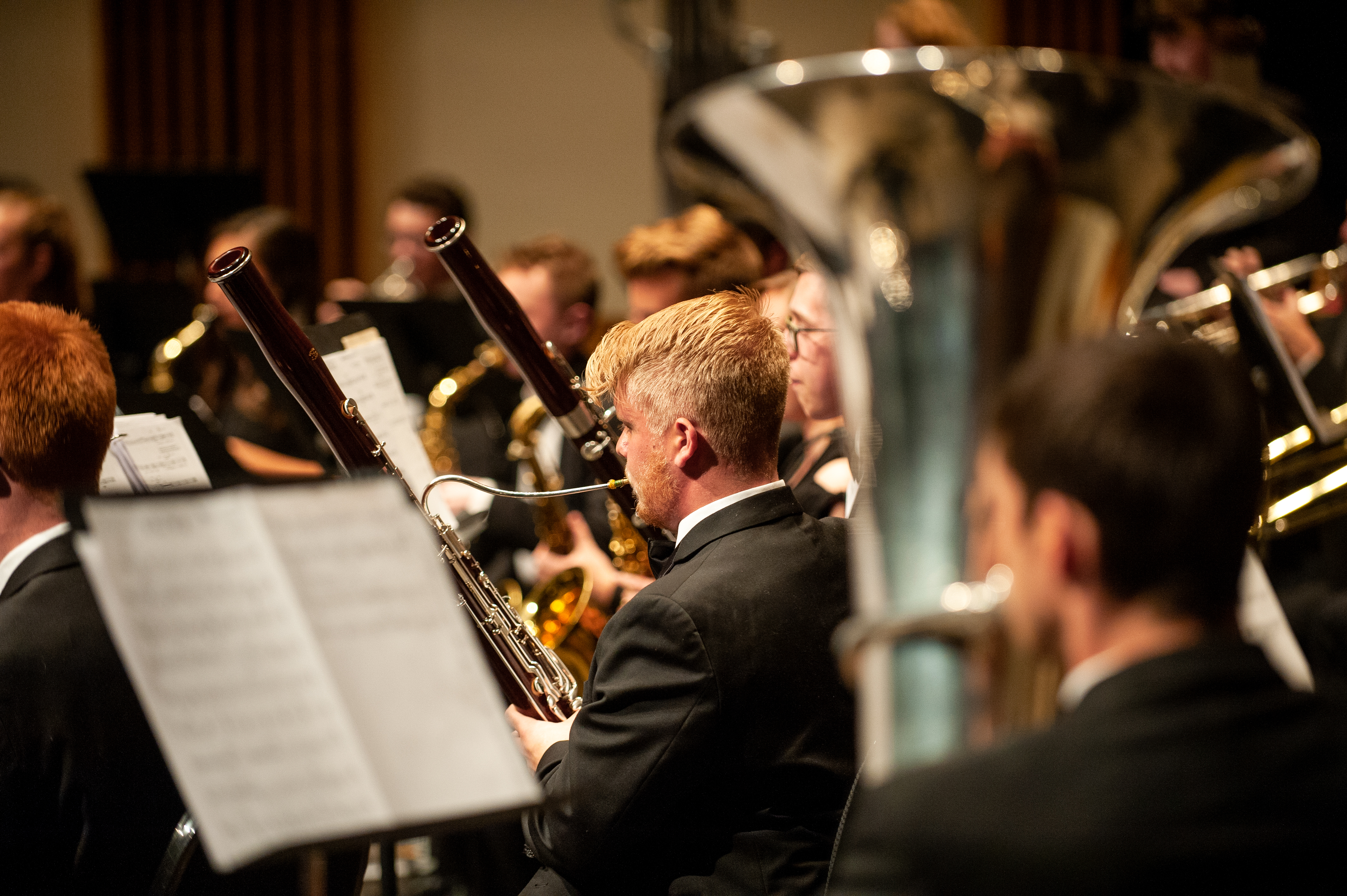 Boise State Symphonic Winds Concert , Ashley Roshitsh Photo
