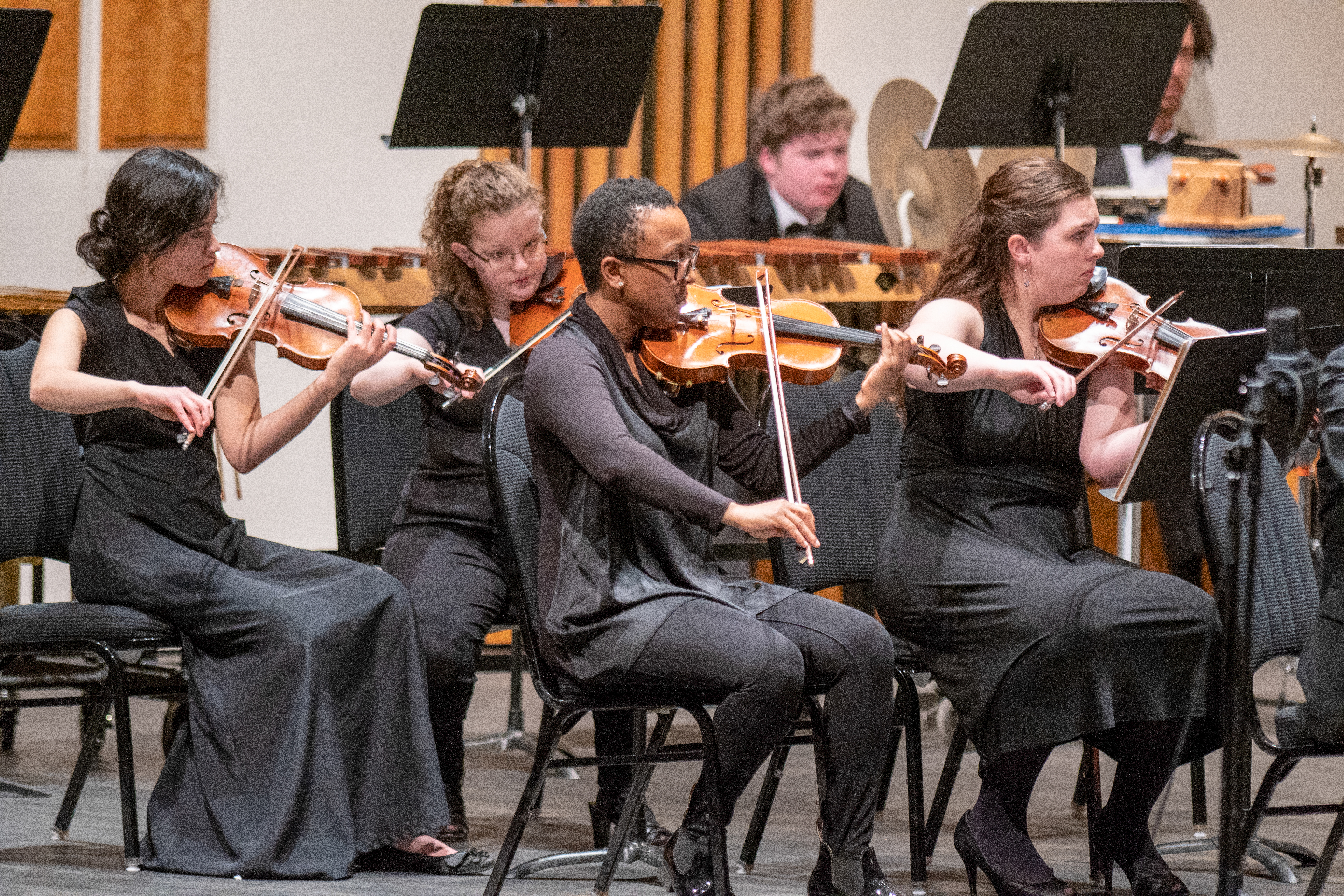 Symphony Concert Spring 2019, Aaron Bacus Photo