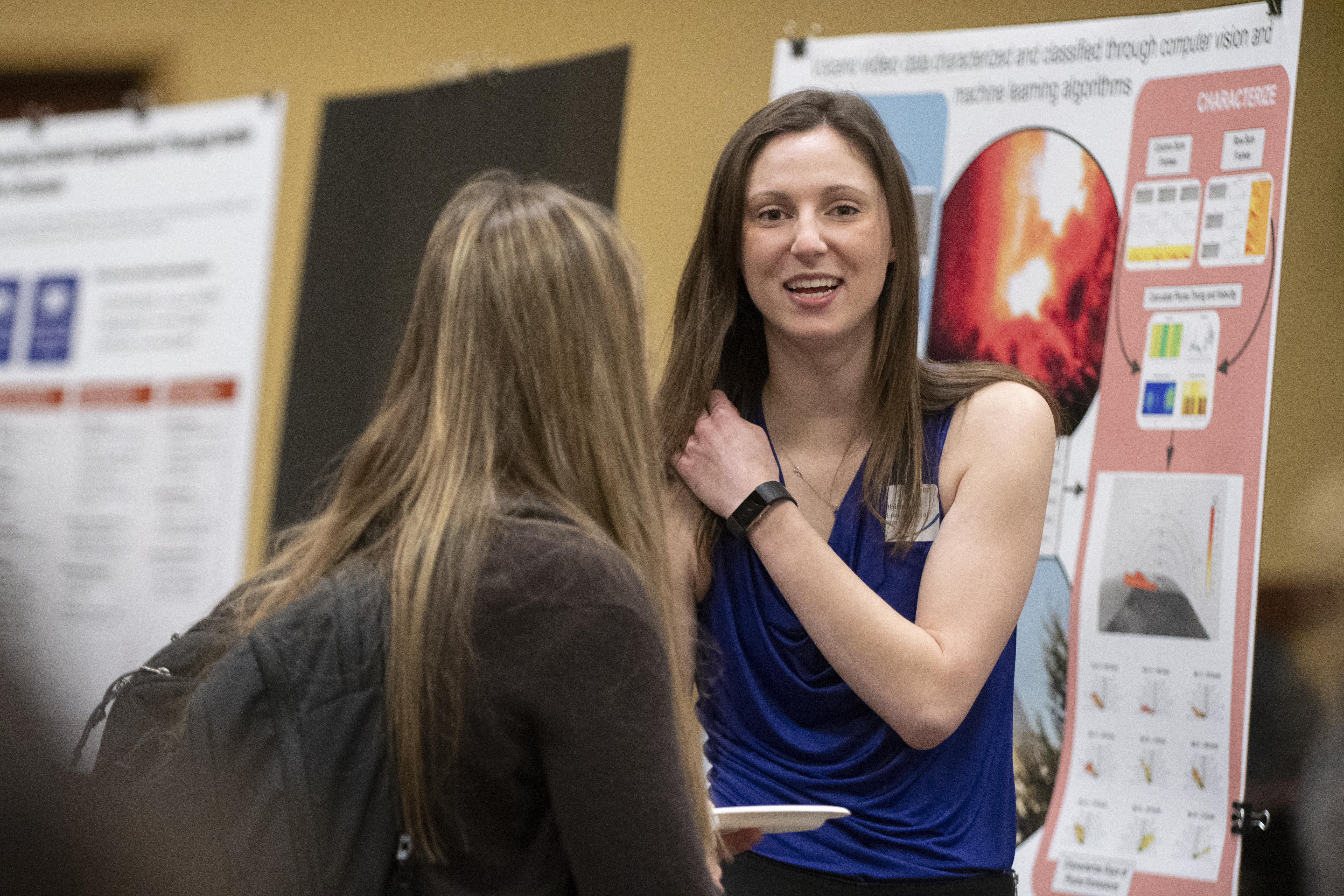 Graduate Student Showcase, photo by Rogue Huitron