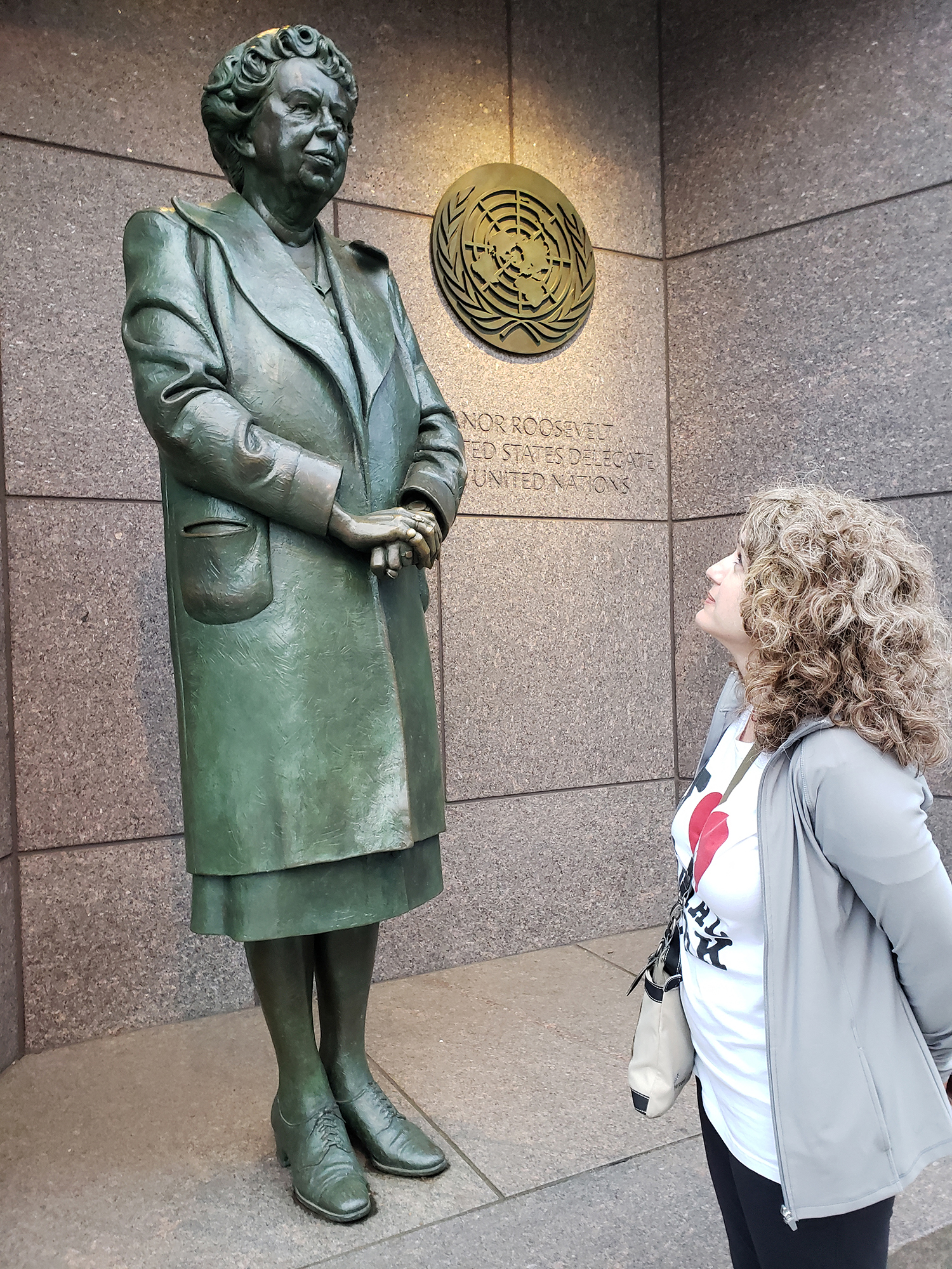 Alyssa Reynolds looks to Eleanor Roosevelt