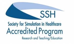 Society for Simulation in Health Care accreditation logo