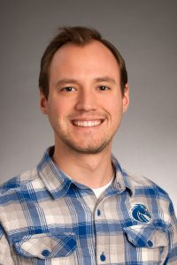 Gabriel Stephens, Institutional Research, faculty/staff, studio portrait, photo by Priscilla Grover